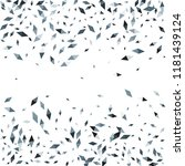 confetti of two colored rhombs... | Shutterstock .eps vector #1181439124
