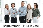 group of successful employees...   Shutterstock . vector #1181459551