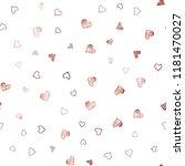 dark red vector seamless layout ...   Shutterstock .eps vector #1181470027