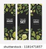 bundle of vertical banner... | Shutterstock .eps vector #1181471857