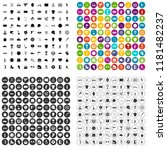 100 sports competition icons... | Shutterstock . vector #1181482237
