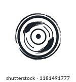 disk or vinil recorder rock... | Shutterstock .eps vector #1181491777