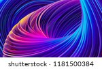 3d abstract colorful fluid... | Shutterstock . vector #1181500384
