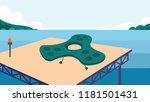 spaceship or drones vector... | Shutterstock .eps vector #1181501431