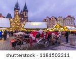 Prague Christmas Market On The...