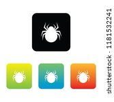 colorful spider icons | Shutterstock .eps vector #1181532241