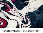 suminagashi   the ancient art... | Shutterstock . vector #1181534704