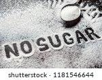 diet and weight loss  denial of ... | Shutterstock . vector #1181546644