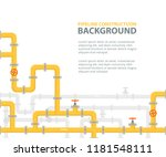 industrial background with... | Shutterstock .eps vector #1181548111