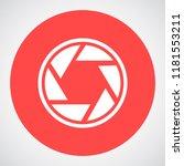 camera lens vector icon 10 eps | Shutterstock .eps vector #1181553211