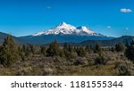 mt shasta is a volcano in the... | Shutterstock . vector #1181555344