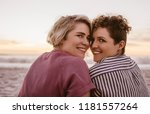 portrait of a content young... | Shutterstock . vector #1181557264