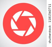 camera lens vector icon 10 eps | Shutterstock .eps vector #1181560711