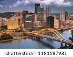 Pittsburgh City Landscape View...