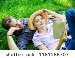 couple in love spend leisure... | Shutterstock . vector #1181588707