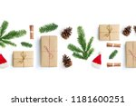 happy christmas layout... | Shutterstock . vector #1181600251