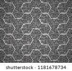 abstract geometric pattern with ... | Shutterstock .eps vector #1181678734