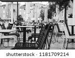 Black And White Chairs. Rovinj...
