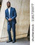 portrait of young handsome...   Shutterstock . vector #1181720377