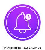 notification vector icon of...