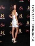 "tammin sursok at the ""hatfields ... | Shutterstock . vector #118173361"