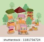 plants vivarium scene icons   Shutterstock .eps vector #1181736724
