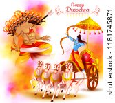 vector illustration of lord...   Shutterstock .eps vector #1181745871