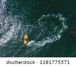 watercraft view from the air | Shutterstock . vector #1181775571