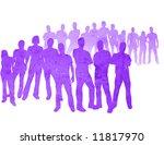 textures style of people... | Shutterstock . vector #11817970