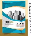 business abstract vector... | Shutterstock .eps vector #1181797411