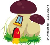 cartoon house icon | Shutterstock .eps vector #118180645