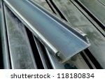 light lip channel steel | Shutterstock . vector #118180834