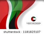 national flag color of united... | Shutterstock .eps vector #1181825107