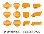 modern banner collection....   Shutterstock .eps vector #1181842927