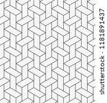 vector seamless pattern.... | Shutterstock .eps vector #1181891437