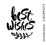 best wishes christmas and new... | Shutterstock .eps vector #1181892571