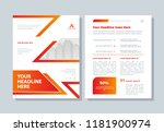 annual report  business... | Shutterstock .eps vector #1181900974