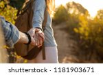 close up shot of young couple... | Shutterstock . vector #1181903671