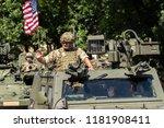 warsaw  poland   august 15 ... | Shutterstock . vector #1181908411