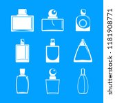 fragrance bottles aroma flavor...   Shutterstock .eps vector #1181908771