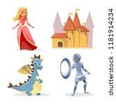 Cartoon Medieval Fairy Tale...