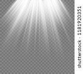 light sources  concert lighting ... | Shutterstock .eps vector #1181920351