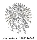 cute coloring book style.... | Shutterstock .eps vector #1181944867
