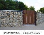 gabion. interesting way of... | Shutterstock . vector #1181946127