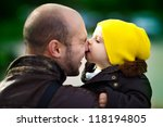 Baby Kisses  Dad