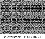 seamless pattern with striped... | Shutterstock .eps vector #1181948224