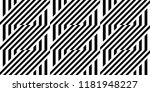 seamless pattern with striped... | Shutterstock .eps vector #1181948227