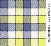 seamless tartan vector pattern | Shutterstock .eps vector #1181957134