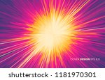 background with explosion.... | Shutterstock .eps vector #1181970301