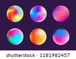 vector illustration gradient... | Shutterstock .eps vector #1181982457